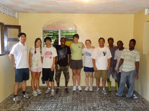 First IIT Haiti Team