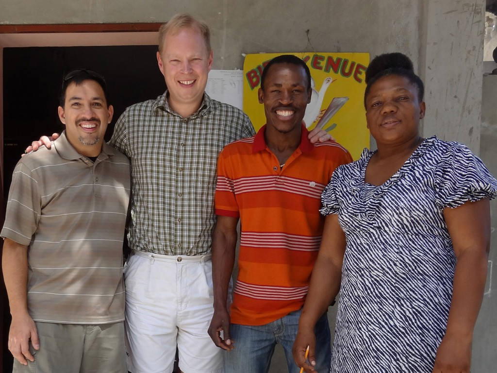 IIT Haiti Team with Principal Flore