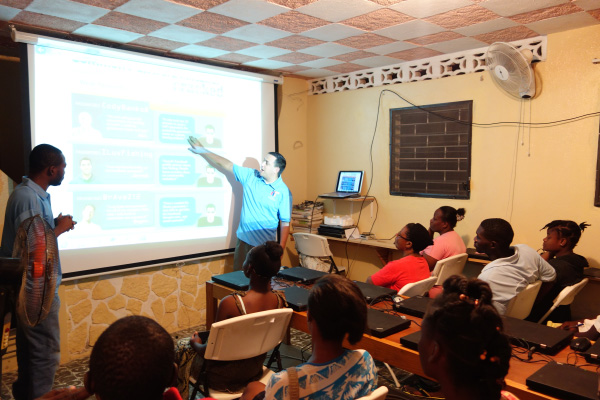 Jeff teaches at IIT Haiti