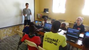 US Team members teaching at IIT Haiti