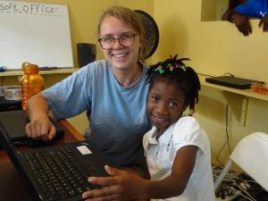 Smiles at IIT Haiti