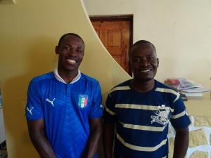Lionel and Eddie, our founder and primary teacher